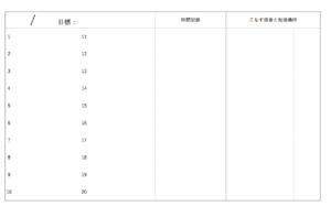 東大生の1日の勉強スケジュールその1:やることリストを作ろう!